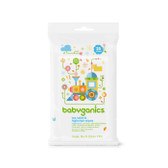 Toy Table & Highchair Wipes Fragrance Free 25 Wipes, BabyGanics