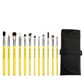 Studio Line Eyes Brush Set and Pouch 12 Pc Set, Bdellium Tools