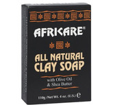 Africare All Natural Clay Soap 4 oz (110 g), Cococare