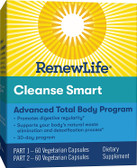 Cleanse Smart 30 Day Renew Life, Digestive Balance & Regularity