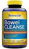 Bowel Cleanse 150 Caps Renew Life, Constipation, Colon Cleansing