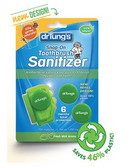 Snap-On Toothbrush Sanitizer Fresh Mint Aroma 1 Sanitizer 2 Refills, Dr. Tung's