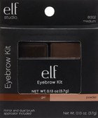 Eyebrow Kit Gel - Powder Medium 0.12 oz (3.5 g), E.L.F. Cosmetics