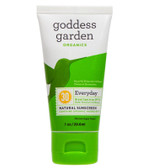 Organics Everyday Natural Sunscreen SPF 30 1 oz (29.6 ml), Goddess Garden