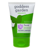 Organics Facial Natural Sunscreen SPF 30 1 oz (29.6 ml), Goddess Garden