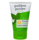 Everyday Natural Sunscreen SPF 30 6 oz (177 ml), Goddess Garden