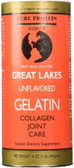 Beef Hide Gelatin Collagen Joint Care Unflavored 16 oz Great Lakes