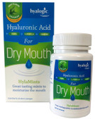 Hyaluronic Acid for Dry Mouth HylaMints Mint Flavor 60 Lozenges, Hyalogic