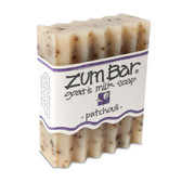 Zum Bar Goat's Milk Soap Patchouli 3 oz Bar, Indigo Wild