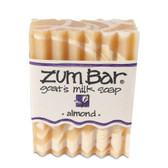 Zum Bar Goat's Milk Soap Almond 3 oz Bar, Indigo Wild