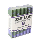 Zum Bar Goat's Milk Soap Lavender-Mint 3 oz Bar, Indigo Wild