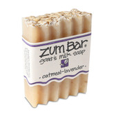 Zum Bar Goat's Milk Soap Oatmeal Lavender 3 oz Bar, Indigo Wild