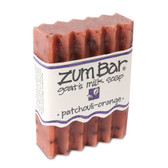Zum Bar Goat's Milk Soap Patchouli-Orange 3 oz Bar, Indigo Wild