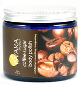 Coffee Sugar Body Polish 12 oz (355 ml), Isvara Organics