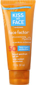 Face Factor Face + Neck 50 SPF Sunscreen 2 oz (59 ml), Kiss My Face