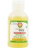 Baby Massage Oil Fragrance Free 4 oz (118 ml), Lafe's Natural Body Care