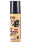 Natural Liquid Foundation Ivory Light 01 1.0 oz (30 ml), Lavera Naturkosmetic