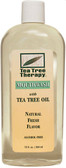 Natural Tea Tree Mouthwash No Alcohol 12 oz, Tea Tree Therapy