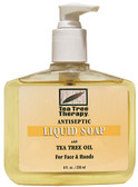 Antiseptic Tea Tree Liquid Soap 8 oz, Tea Tree Therapy