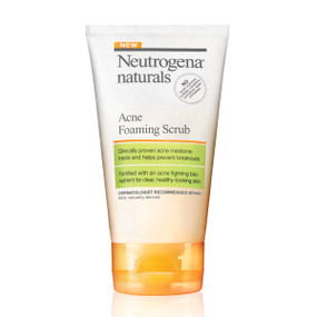 Acne Foaming Scrub 4.2 oz (124 ml), Neutrogena Naturals