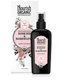 Rejuvenating Rose Hip & RoseWater Body Oil Mist 3 oz (88 ml), Nourish Organic