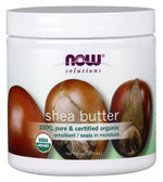 Solutions Shea Butter Certified Organic 7 oz (207 ml), Now Foods