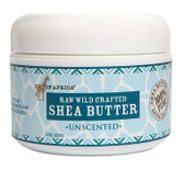 Raw Wild Crafted Shea Butter Unscented 8 oz (227 g), Out of Africa
