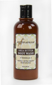 Organic Shea Butter Body Wash Tropical Vanilla 9 oz (270 ml), Out of Africa
