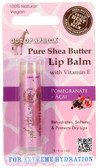 Lip Balm Pure Shea Butter Pomegranate + Acai 0.15 oz (4 g), Out of Africa