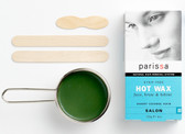 Natural Hair Removal System Hot Wax 4 oz (120 g), Parissa