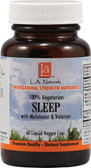 Sleep with Valerian & Melatonin 60 Caps LA Naturals