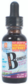 L.A. Naturals Liquid B Complex Drops 1 oz, Energy, Fatigue