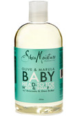 Olive & Marula Baby Head-To-Toe Wash & Shampoo 12 oz (355 ml), Shea Moisture