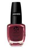 Polish & Peel Water-Based Nail Polish Mulberry 0.27 oz (8 ml), Suncoat