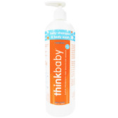 Thinkbaby Baby Shampoo and Body Wash 16 oz (473 ml), Think