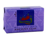 Ancient Clay Natural Soap Mountain Rain 6 oz (170 g), Zion Health