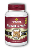 Hairball Formula For Cats 60Chewable Tabs, Actipet