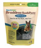 Breath-Less Brushless Toothpaste Chewable Medium to Large Dogs 18 oz (508 g), Ark Naturals