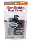 Gray Muzzle Heart Healthy! Wags Plenty! Heart for Senior Dogs 60 Bite Size Soft Chews 4.23 oz (120 g), Ark Naturals