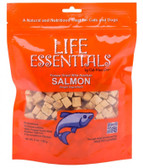 Life Essentials Freeze Dried Wild Alaskan Salmon Treats 5 oz, Cat-Man-Doo