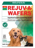 Rejuv-A-Wafers Superfood Supplement for Dogs & Cats 60 Wafers, Sun Chlorella