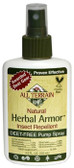 Herbal Armor Natural Insect Repellent Deet-Free Pump Spray 4 oz (120 ml), All Terrain