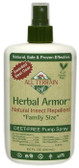 Herbal Armor Natural Insect Repellent Deet-Free Pump Spray 8.0 oz (240 ml), All Terrain