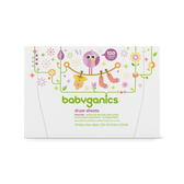 Dryer Sheets Lavender 120Fabric Softener Sheets, BabyGanics