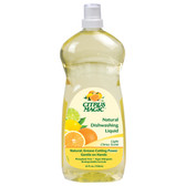 Natural Dishwashing Liquid Light Citrus Scent 25 oz (739 ml), Citrus Magic