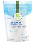 Bleach Alternative Pods Fragrance Free 24 Loads 15.2 oz (432 g), GrabGreen