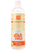 Dish Soap Tangerine with Lemongrass 16 oz (473 ml), GrabGreen