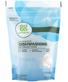 Automatic Dishwashing Detergent Pods Fragrance Free 24 Loads 15.2 oz (432 g), GrabGreen
