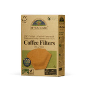 Coffee Filters No. 2 Size 100 Filters, If You Care