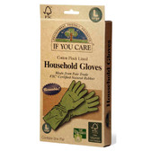 Household Gloves Reusable Large 1 Pair, If You Care